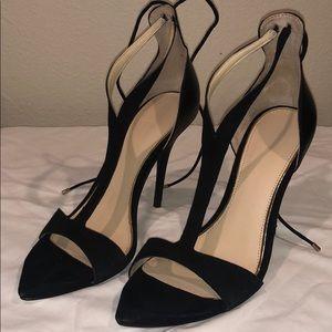Zara blk heels